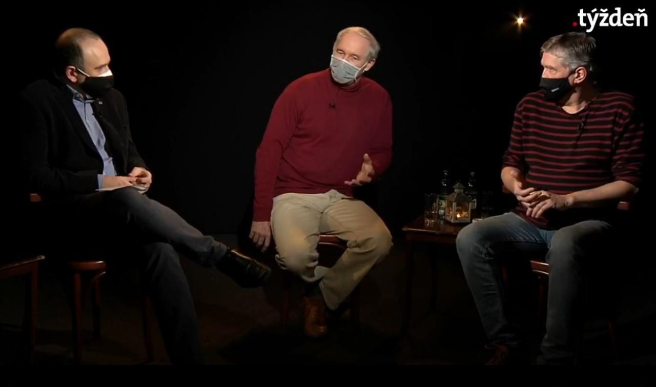 .pod lampou: Rok Róberta Bezáka a Štefana Hríba | Pod lampou | .týždeň - iný pohľad na spoločnosť