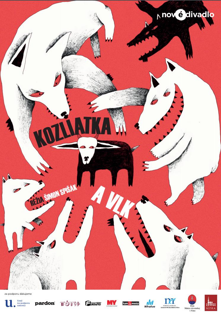 Kozliatka a vlk