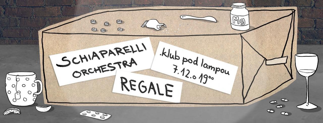 Schiaparelli Orchestra a Regale v .klube pod lampou