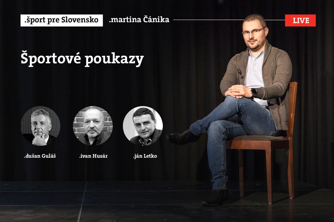 Šport pre Slovensko: Športové poukazy