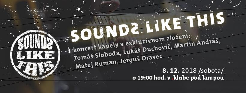 Koncert Sounds Like This