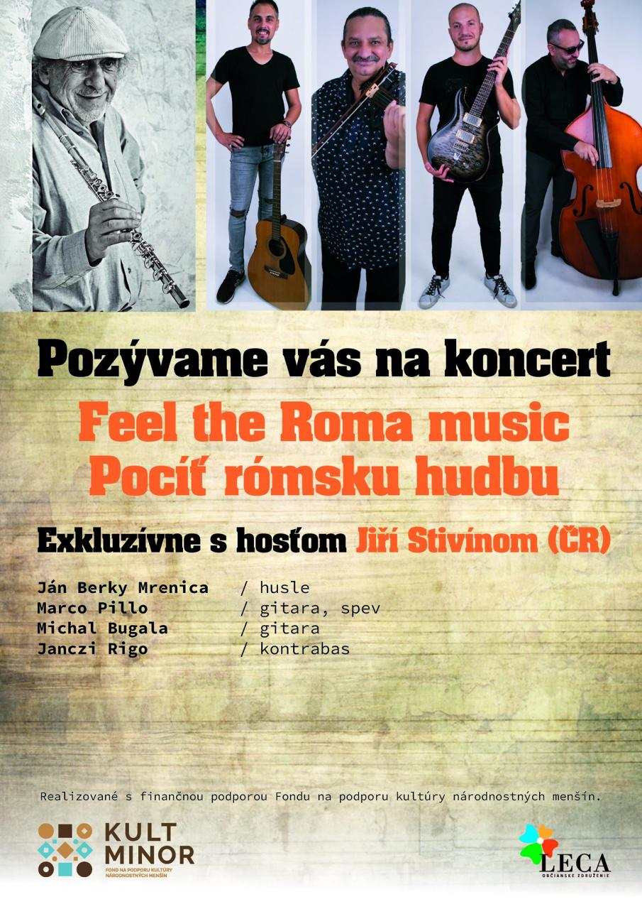 Feel the Roma music - Pocíť rómsku hudbu