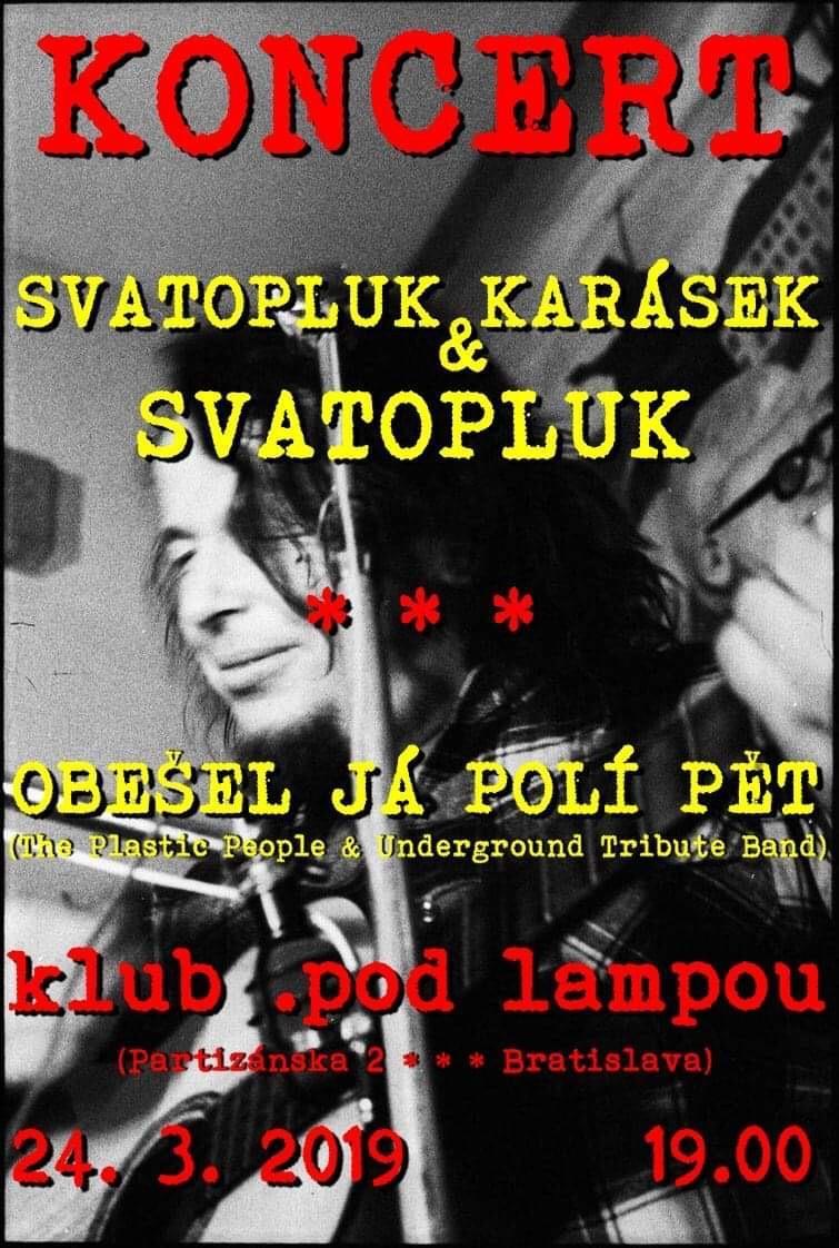 Koncert Svatopluk - Sváťa Karásek & Band / Obešel já polí pět