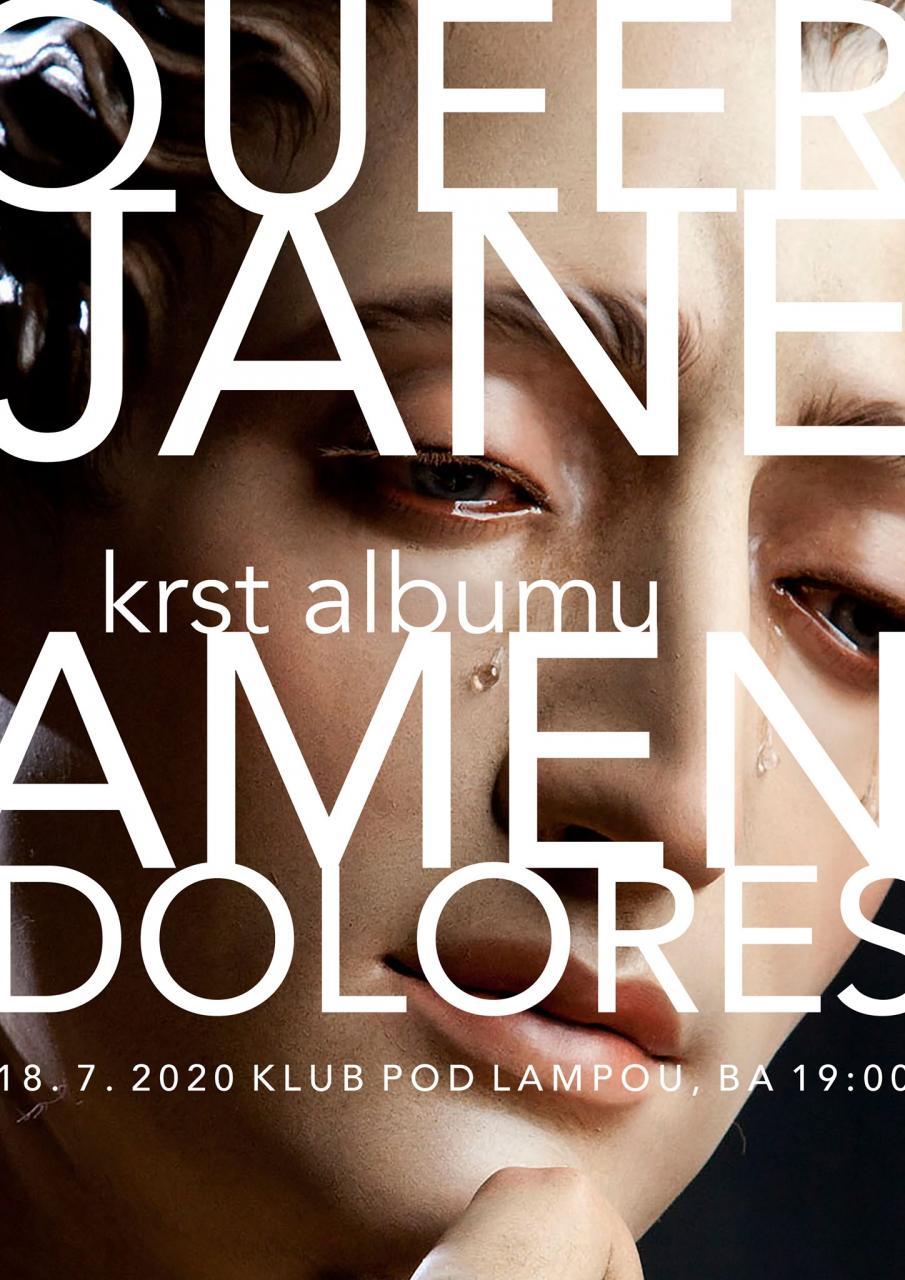 Krst albumu Queer Jane - Amen Dolores