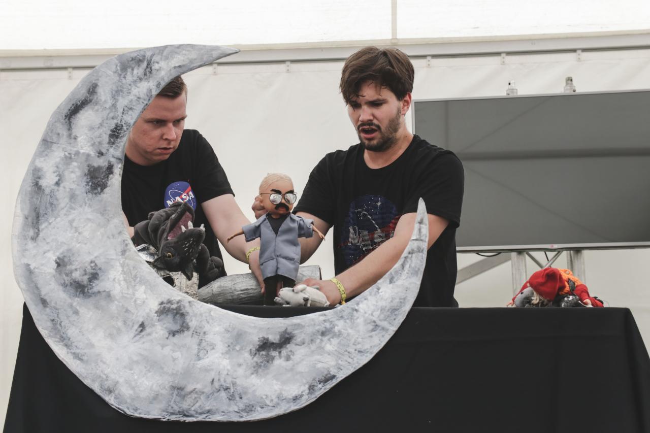 Divadlo pre deti: Vlk na mesiaci