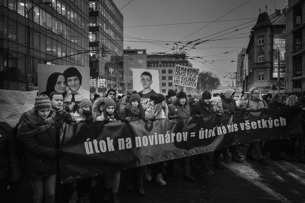 Ľudia v uliciach žiadali spravodlivosť