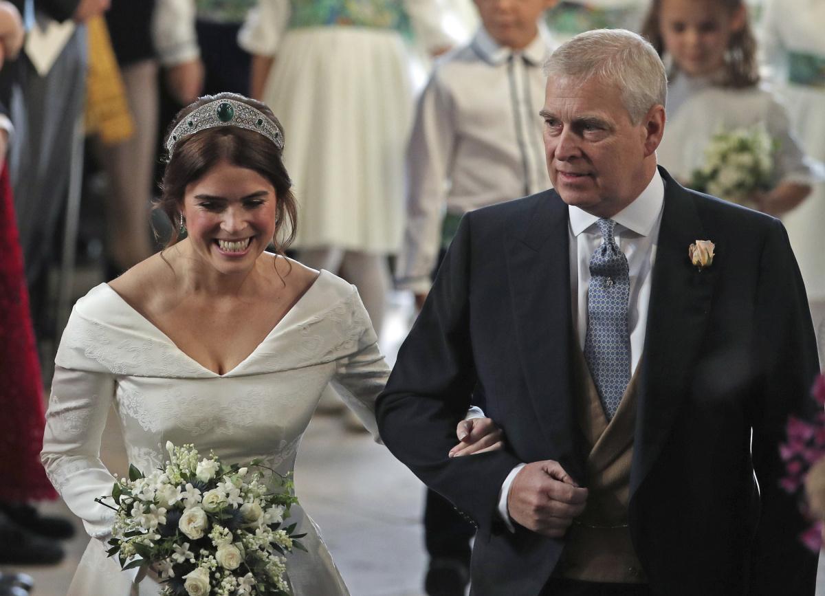 Princezná Eugenie sa vydala. Svadba vnučky kráľovnej Alžbety vo fotografiách