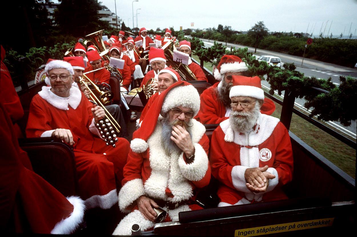 Fototéma: Čo robí Santa Claus v lete?